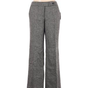 *Calvin Klein Gray Tweed High Rise Waist Pants